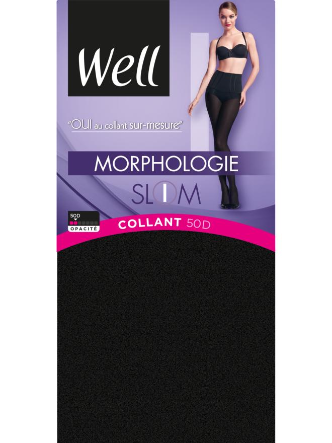 Collant Opaque 50D sur-mesure Morphologie
