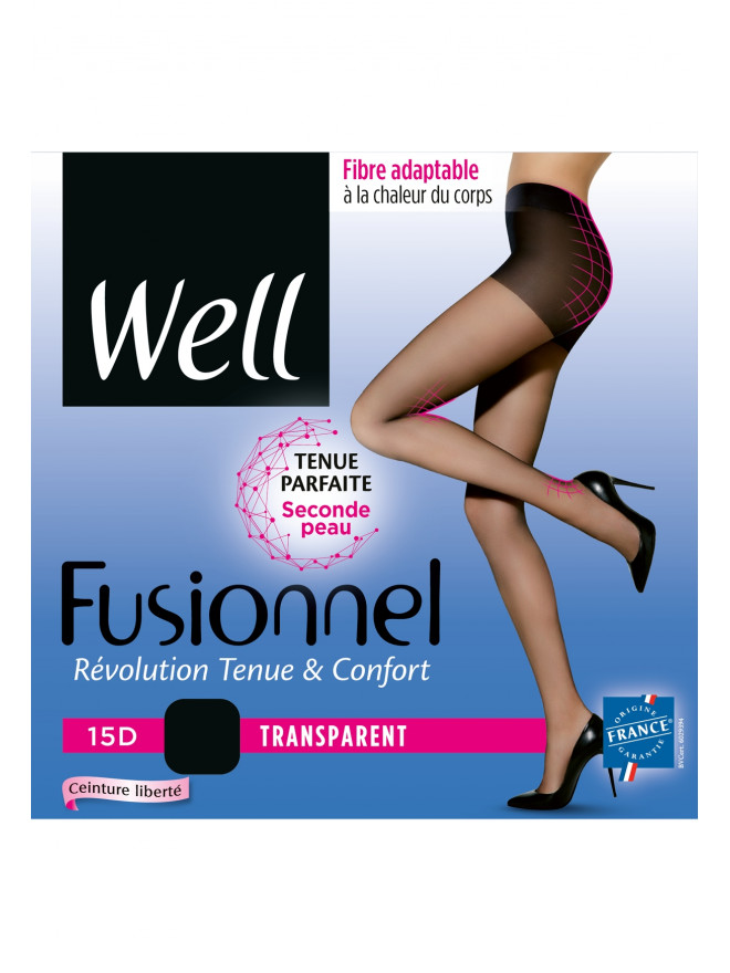 Collant Well Fusionnel Transparent