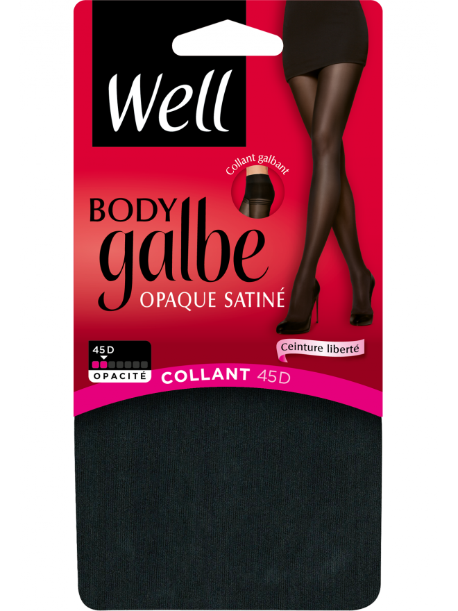 Well Body Galbe Opaque Satiné