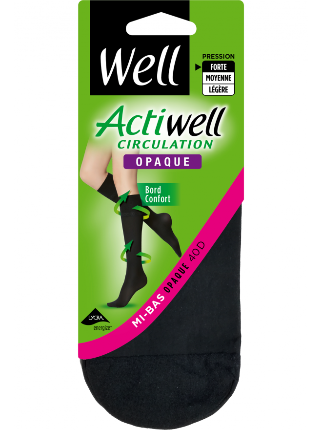 Mi-Bas Actiwell Circulation Opaque