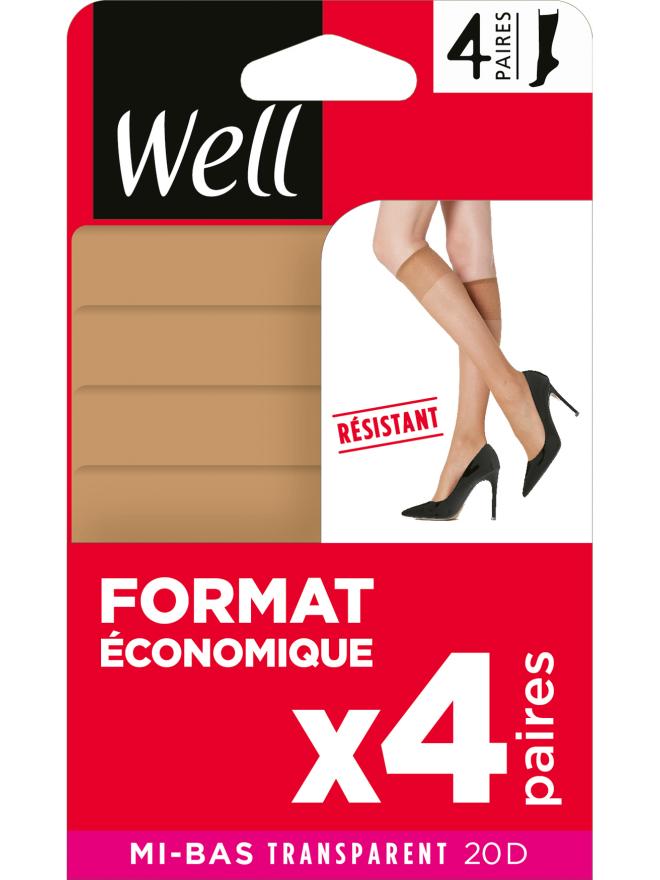 Mi-Bas Format Economique x4