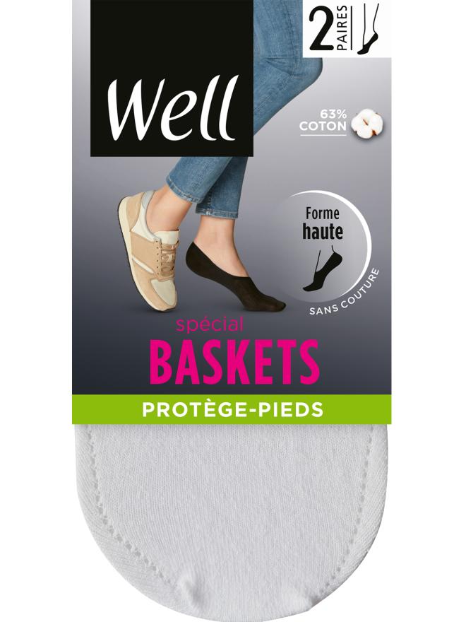 Lot de 2 paires de Protège-Pieds Spécial Baskets