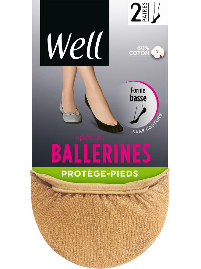 Protège-Pieds Spécial Ballerines x2