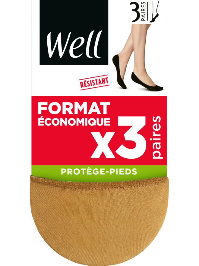 Protège-Pieds Format Economique x3