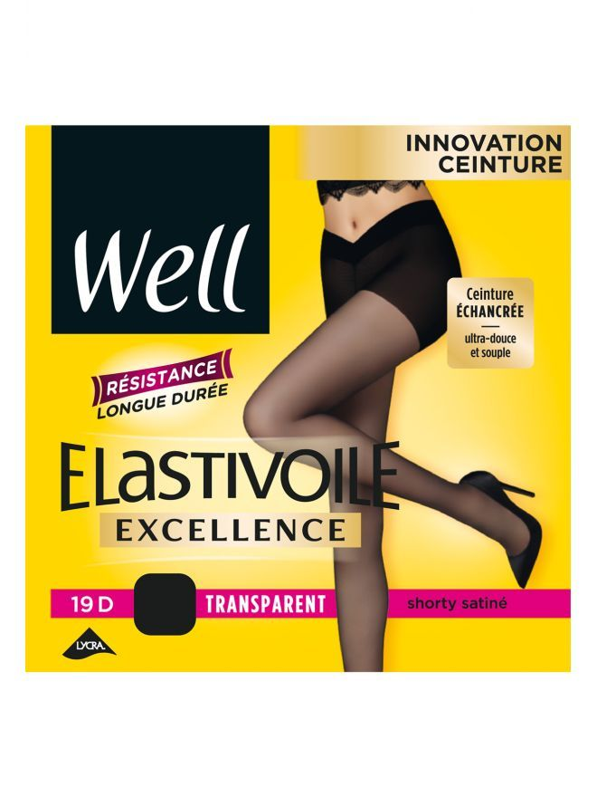 Elastivoile Excellence Collant Transparent