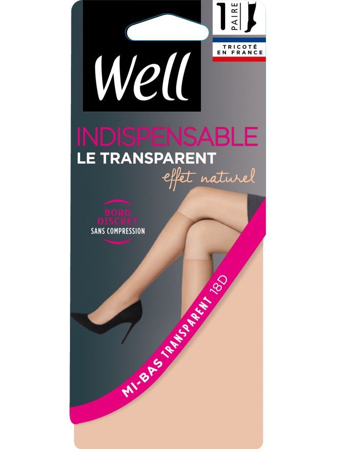 Indispensable Le transparent Mi-Bas