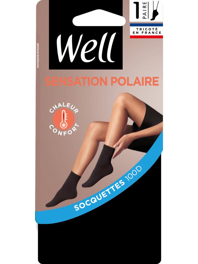 Sensation Polaire Socquettes Opaque