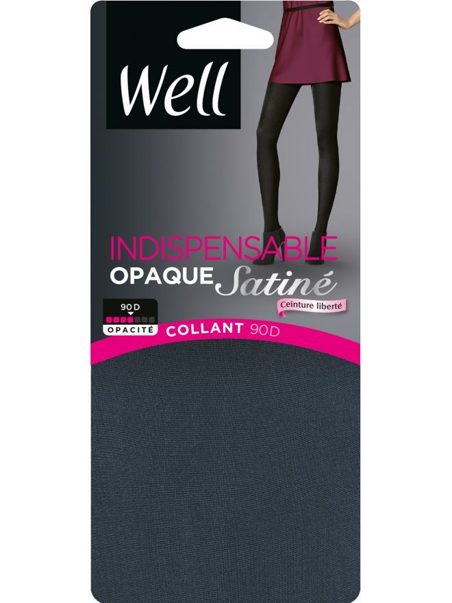 Indispensable Collant Opaque Satiné