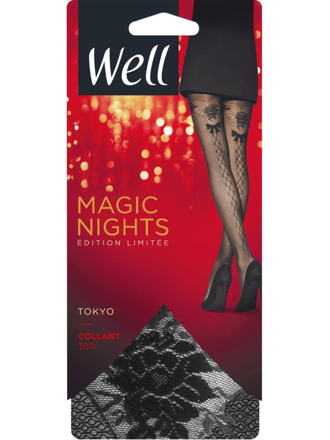 Magic Nights Tokyo Collant Effet Résille