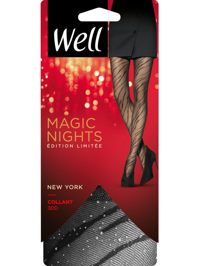 Magic Nights New York Collant Voile