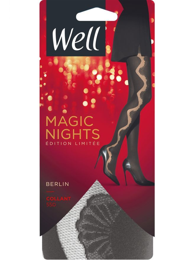 Magic Nights Berlin Collant Opaque