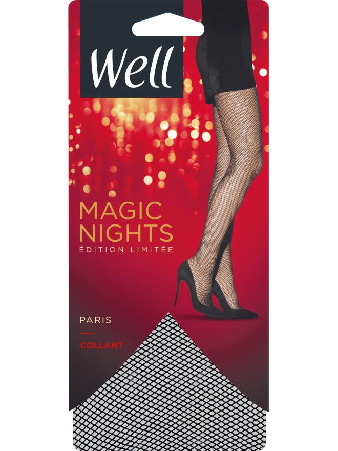 Magic Nights Paris Collant Voile