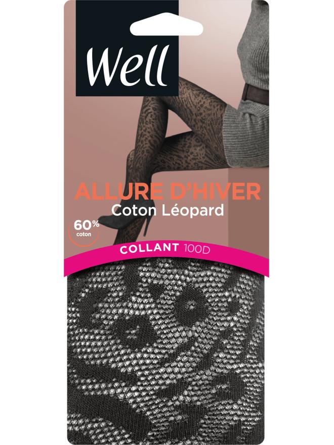 Allure d'Hiver Coton Mode Collant Opaque