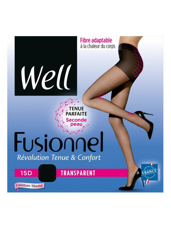 Collant Transparent Fusionnel 15D