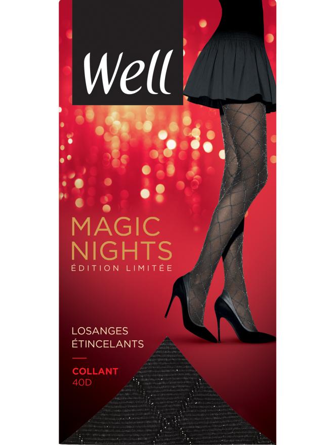 Collant Fantaisie Semi-Opaque 40D Magic Nights