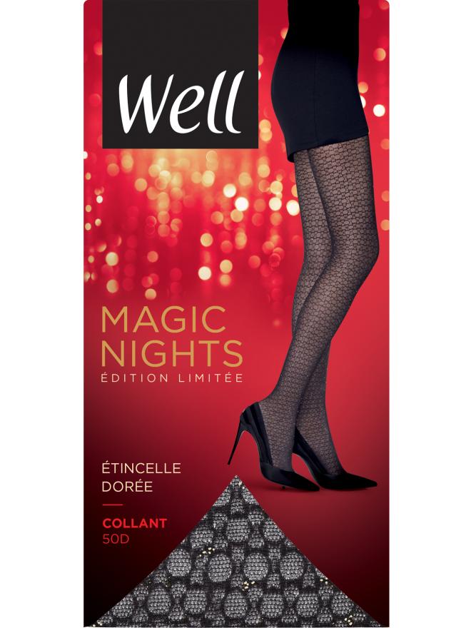 Collant Fantaisie Semi-Opaque 30D Magic Nights