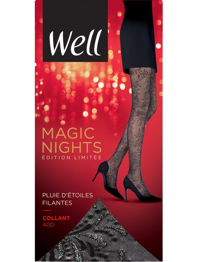 Collant Fantaisie Transparent 20D Magic Nights