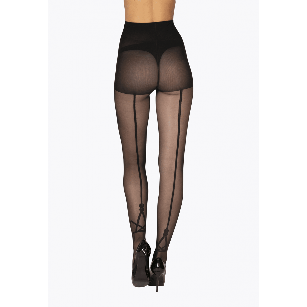 Collant Fantaisie Transparent 20D avec Baguette Magic Nights