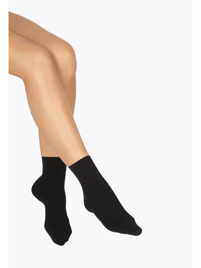 Socquettes Opaques 50D Éco-Responsable