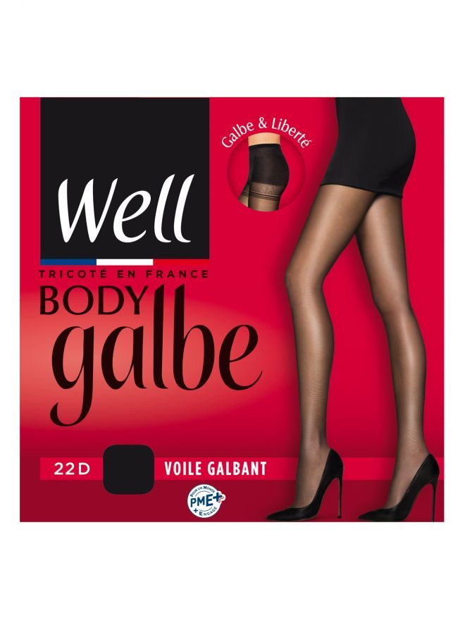 Collant Voile Galbant 22D Body Galbe