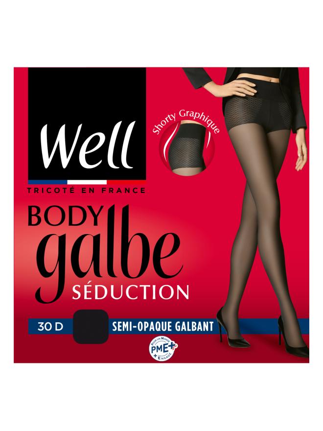 Collant Galbant Semi-opaque 30D Body Galbe Séduction