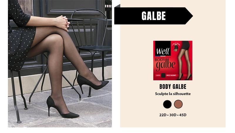 Gamme de collants Body Galbe : sculptez votre silhouette